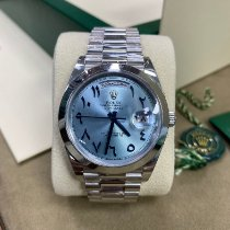 Rolex Day-Date 40 228206 Very good Platinum 40mm Automatic