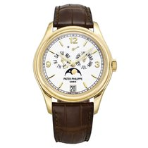 Patek Philippe Annual Calendar Yellow gold 39mm Champagne United States of America, Connecticut, Greenwich