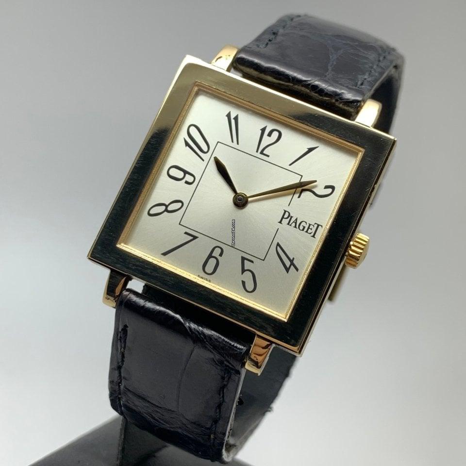 Piaget Altiplano 50930 Square 18K Gold FULL SET LC EU