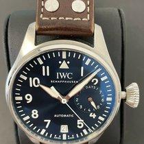 IWC Big Pilot Steel Blue Arabic numerals