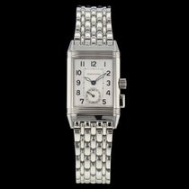 Jaeger-LeCoultre Reverso Memory Steel 23mm Arabic numerals
