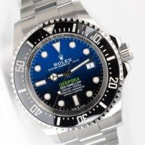 Rolex Sea-Dweller Deepsea Zeljezo 44mm Plav-modar