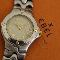 Ebel Sportwave Золото/Cталь 28mm Белый Римские