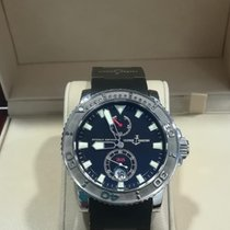 Ulysse Nardin Maxi Marine Diver new 2002 Automatic Watch with original box and original papers 263-33