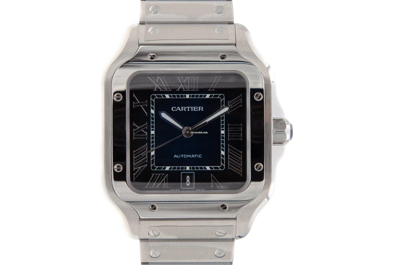 Cartier Santos (submodel) WSSA0030 2020 новые