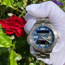Breitling Aerospace Titanium 40mm Blauw