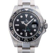 Rolex (ロレックス) GMT マスター II 中古 40mm ブラック GMT /第2タイムジーン