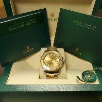 Rolex Yacht-Master 40 Gold/Steel 40mm Champagne No numerals Canada, Abbotsford