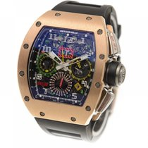 Richard Mille Rose gold 50mm Automatic RM 11-02 pre-owned United States of America, Pennsylvania, southampton