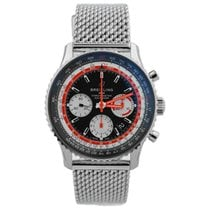 Breitling pre-owned Automatic 43mm Black Sapphire crystal 3 ATM