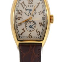 Franck Muller Master Banker 5850MB Very good Yellow gold 32mm Automatic