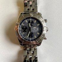 Breitling Chronomat Evolution Steel 44mm Black No numerals United States of America, New Jersey, Hoboken