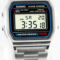 Casio Plastic 33mm Quartz A158WEA-1EF new United States of America, California, Walnut