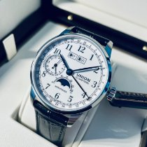 Union Glashütte new Manual winding Display back Small seconds Tempered blue hands Only Original Parts 41mm Steel Sapphire crystal