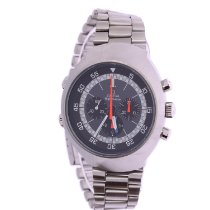 Omega Flightmaster Steel Grey Arabic numerals