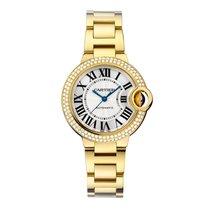 Cartier Ballon Bleu 33mm Yellow gold 33mm Silver Roman numerals United States of America, New York, New York
