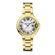 Cartier Ballon Bleu 33mm new Automatic Watch with original box and original papers WGBB0005
