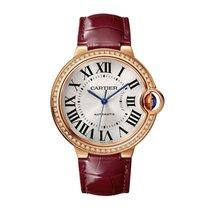 Cartier Rose gold Automatic Roman numerals 36mm new Ballon Bleu 36mm