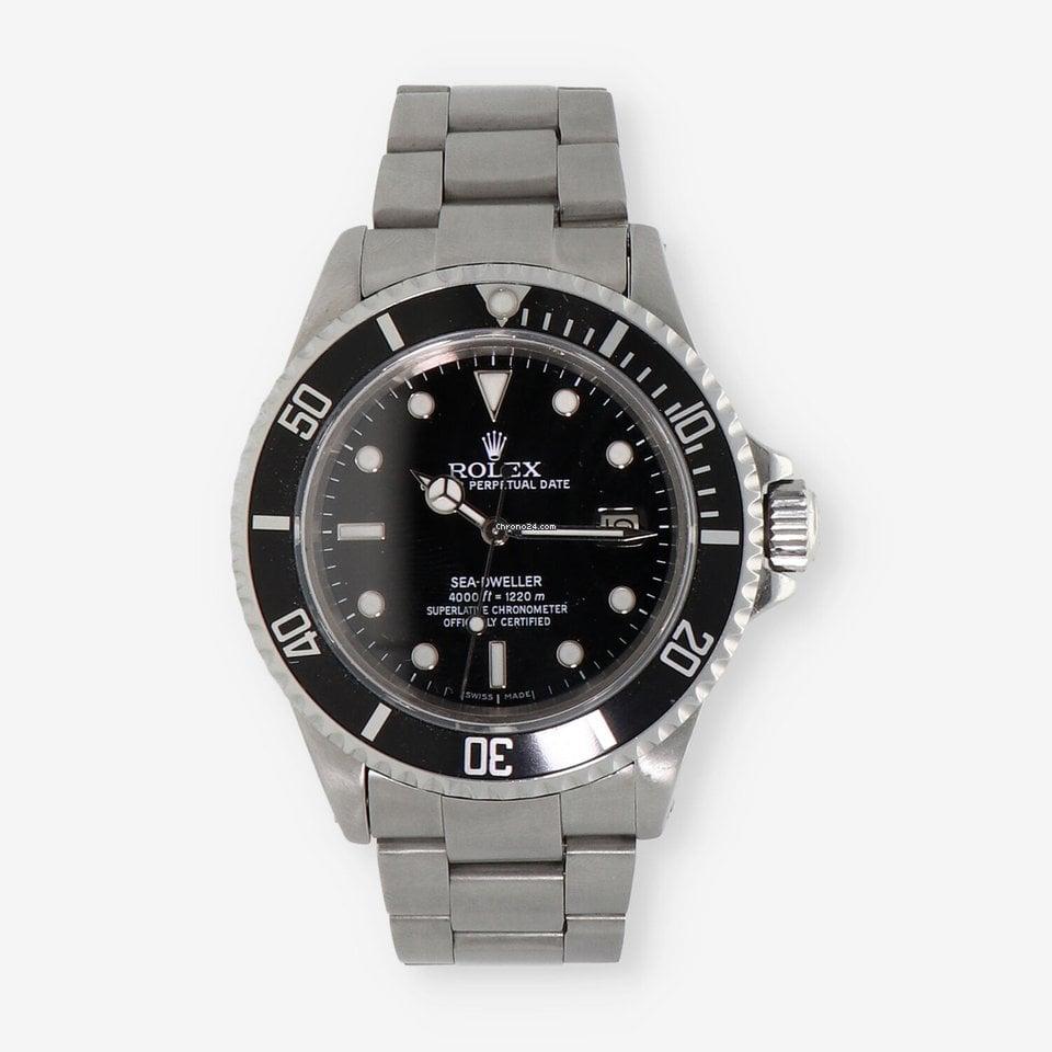 Rolex Sea-Dweller 16660 Triple Six 1981 usados