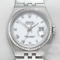 Rolex Datejust Oysterquartz Золото/Cталь 36mm Белый Римские
