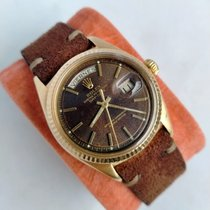 Rolex Day-Date 36 Yellow gold 36mm Brown No numerals United Kingdom, Esher