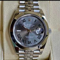 Rolex Datejust Steel 41mm Grey Roman numerals United States of America, Pennsylvania, Philadelphia