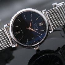 IWC Portofino Automatic новые 2018 Автоподзавод Часы с оригинальными документами и коробкой IW356506