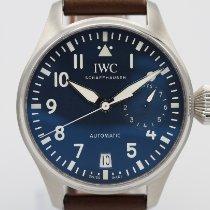 IWC Große Fliegeruhr Stahl 46mm Blau Arabisch Deutschland, Hamburg