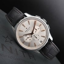 Zenith Captain Chronograph Steel 42mm Silver No numerals South Africa, Johannesburg
