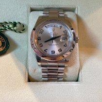 Rolex (ロレックス) 218206  Day-Date II 41mm Glacier Blue Platinum 2009 プラチナ 2009 デイデイト II 41mm 中古