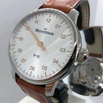 Meistersinger N° 02 Steel 43mm White Arabic numerals