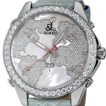 Jacob & Co. Five Time Zone Steel 47mm Mother of pearl No numerals United States of America, New York, Greenvale