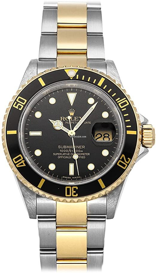 Rolex Submariner Date 16613 Sultan 1997 pre-owned