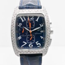 Locman pre-owned Quartz 38mm Blue Sapphire crystal