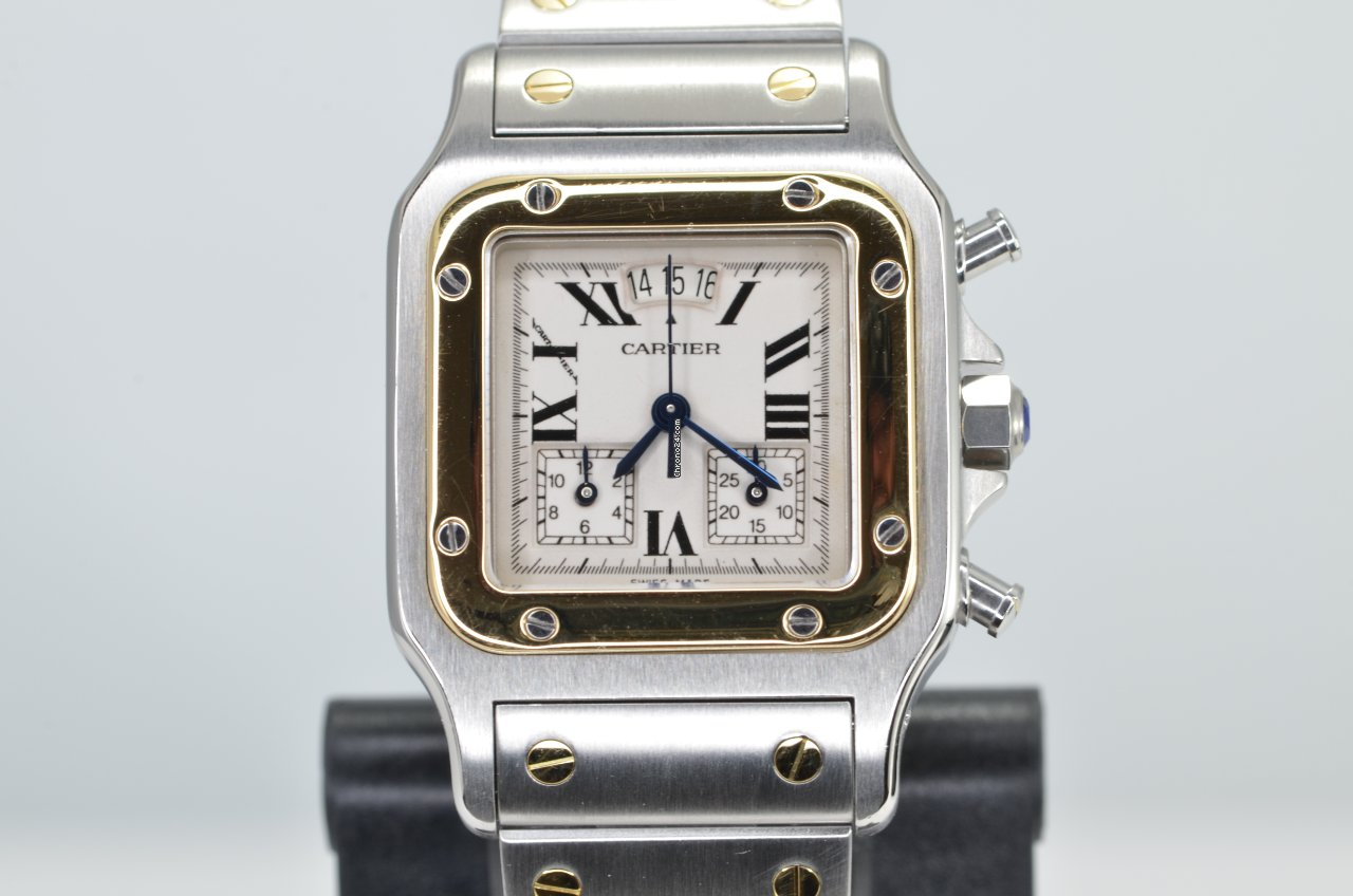 Cartier Santos Galbée 2425 2000 pre-owned