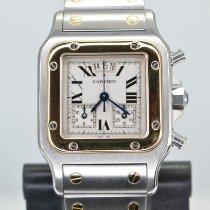 Cartier Santos Galbée Gold/Steel 29mm White Roman numerals United States of America, California, Stockton