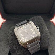Cartier Santos (submodel) Steel 39.8mm Black Roman numerals United States of America, Florida, Coconut Creek