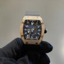 Richard Mille RM 005 Růžové zlato 38mm Průhledná Arabské