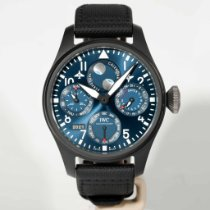 IWC Ceramic Automatic Blue Arabic numerals 46.5mm new Big Pilot