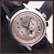 Zenith El Primero Chronomaster Stål 40mm Sølv Romersk