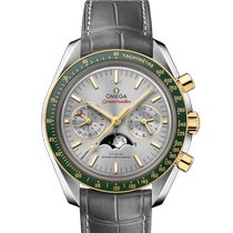 Omega Speedmaster Professional Moonwatch Moonphase Gold/Steel 44.2mm Grey No numerals United Kingdom, CHESTER