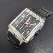 Jaeger-LeCoultre Reverso Squadra Chronograph GMT Acero 35mm Negro Arábigos