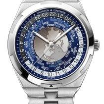 Vacheron Constantin Steel Automatic Blue 43.5mm new Overseas World Time