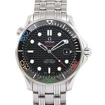 Omega Seamaster Diver 300 M Steel 41mm Black No numerals UAE, Dubai