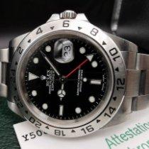Rolex 16570 Stahl 2002 Explorer II 40mm gebraucht