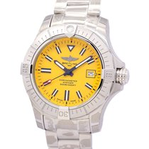 Breitling Avenger Seawolf Steel 45mm Yellow No numerals