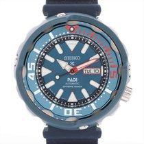 精工 Prospex 鋼 52mm 藍色