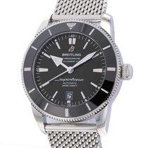 Breitling Superocean Heritage II 46 Steel 46mm Black No numerals