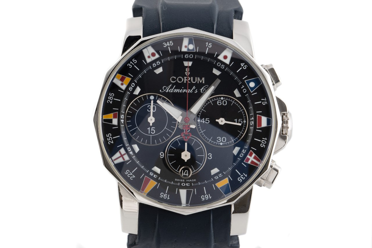 Corum Admiral's Cup (submodel) 985.641.20 2006 pre-owned