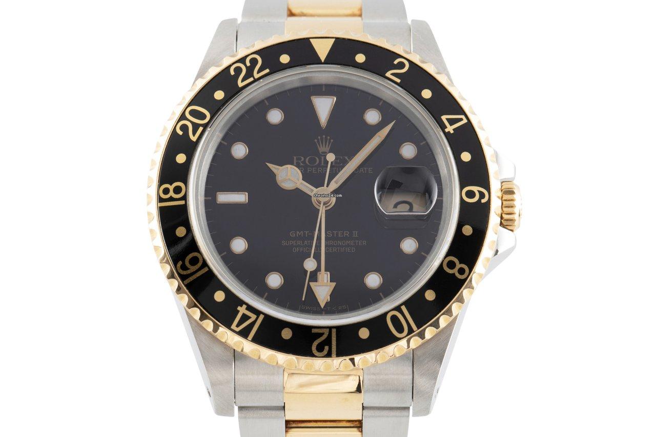 Rolex (ロレックス) GMT マスター II 16713 1989 中古